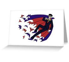 Monster Men - Blood Sucker Greeting Card