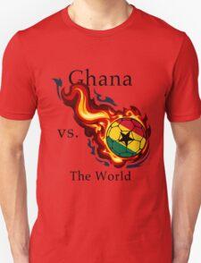 World Cup - Ghana Versus the World Flaming Football T-Shirt