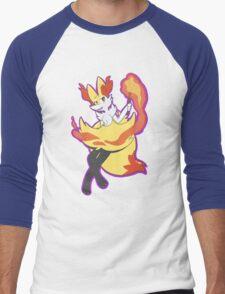 Braixen Men's Baseball ¾ T-Shirt