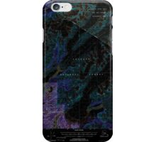 USGS TOPO Map Alaska AK Cordova C-4 355183 2000 63360 Inverted iPhone Case/Skin