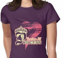 Precious Lil' Princess Womens Fitted T-Shirt