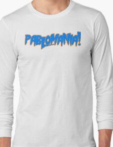 PABLOMANIA! (blue and orange) Long Sleeve T-Shirt