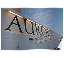 P&O Aurora In Norway Poster
