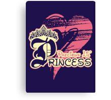 Precious Lil' Princess Canvas Print