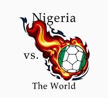 World Cup - Nigeria Versus the World Flaming Football Unisex T-Shirt