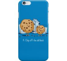 Chip Off the Old Block iPhone Case/Skin