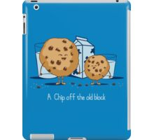 Chip Off the Old Block iPad Case/Skin