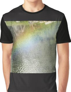 The elusive rainbow- Japanese Gardens -Buenos Aires Graphic T-Shirt