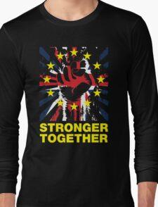 Stronger Together, UK Pro EU T-shirt Long Sleeve T-Shirt