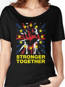 Stronger Together, UK Pro EU T-shirt Women's Relaxed Fit T-Shirt