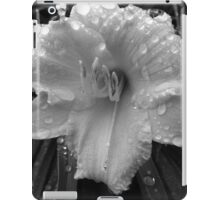 Day Lily(Black and White) iPad Case/Skin