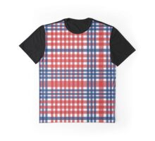 Red patterns tablecloths stylish  Graphic T-Shirt