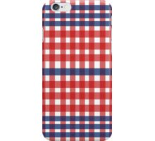 Red patterns tablecloths stylish  iPhone Case/Skin