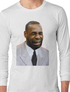 LeBron Crying Long Sleeve T-Shirt
