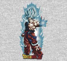 Super Saiyan Goku 00003 One Piece - Long Sleeve
