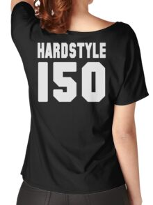 Hardstyle Football (White) Women's Relaxed Fit T-Shirt
