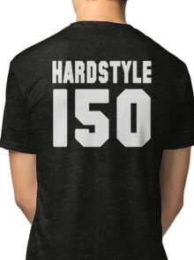 Hardstyle Football (White) Tri-blend T-Shirt