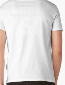 Hardstyle Football (White) Mens V-Neck T-Shirt