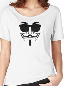 ANONYMOUS COOL REVOLUTION Women's Relaxed Fit T-Shirt