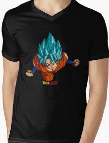 Super Saiyan Goku 00004 Mens V-Neck T-Shirt