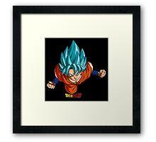 Super Saiyan Goku 00004 Framed Print