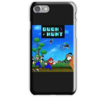 Mario and Luigi : Duck Hunt iPhone Case/Skin