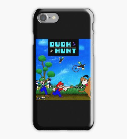 Mario and Luigi : Duck Hunt iPhone Case/Skin