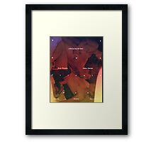 my own private idaho - baroque Framed Print