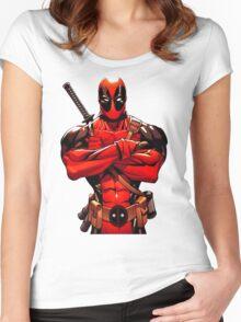 DEADPOOL Women's Fitted Scoop T-Shirt