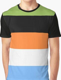 Goofy Color Pallet Graphic T-Shirt