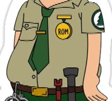 Steve from Brickleberry Sticker