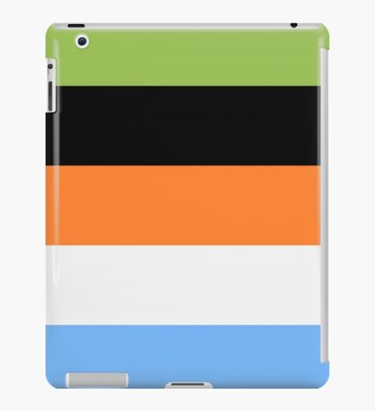 Goofy Color Pallet iPad Case/Skin
