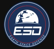 Earth Space Defense (astro) badge One Piece - Short Sleeve