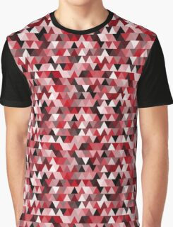 red repeating triangle pattern Graphic T-Shirt