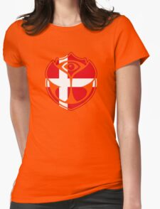 Tomorrowland Denmark logo - Danish - dansk - danois Womens Fitted T-Shirt