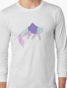 Sweater wearing strolling fish Long Sleeve T-Shirt