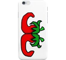 Back 2 Back Chillies iPhone Case/Skin
