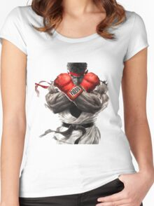 ryu Women's Fitted Scoop T-Shirt