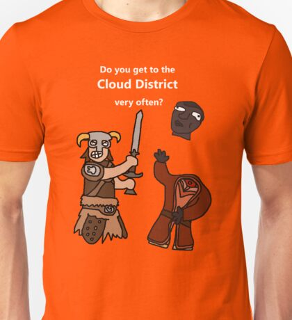 F*ck the Cloud District! Unisex T-Shirt