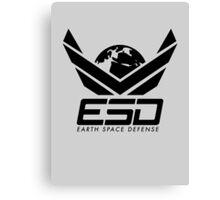 Earth Space Defense (global) Canvas Print