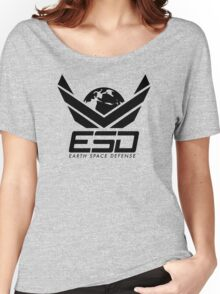 Earth Space Defense (global) Women's Relaxed Fit T-Shirt