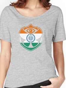 Tomorrowland India logo - Inde Women's Relaxed Fit T-Shirt