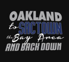 Oakland to Sactown Kids Clothes