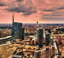 View of Milan by Roberto Pagani