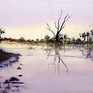 The tranquility of a wash! by Kay Cunningham