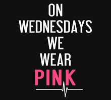 On Wednesdays We Wear Pink T-Shirt  Womens Fitted T-Shirt