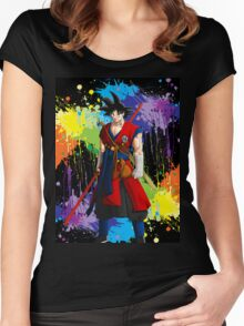I Am Goku Women's Fitted Scoop T-Shirt