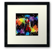 I Am Goku Framed Print