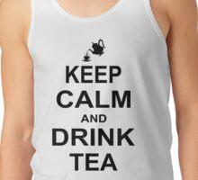 Keep Calm and Drink Tea Tank Top