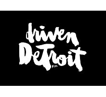 Driven Detroit : Dark Photographic Print